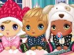 Jouer gratuitement à Bébés en hiver