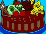 Jouer gratuitement à Colorier un gâteau