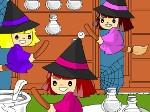 Jouer gratuitement à Colorier les sorcières