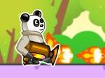 Jeu Panda Flame Thrower