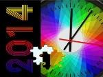 Jouer gratuitement à Puzzle de Nouvel An 2014