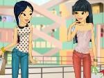 Jouer gratuitement à Deux sœurs font du shopping