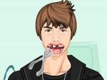 Jouer gratuitement à Justin Bieber chez le dentiste