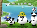 Jouer gratuitement à 3 Pandas in Brazil