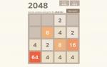 Jouer gratuitement à 2048