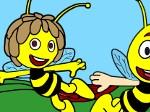 Jouer gratuitement à Colorie Maya l'abeille