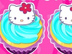 Jeu Cupcakes de Hello Kitty
