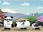 Jeu 3 pandas au Japon