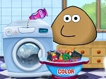 Jouer gratuitement à Pou Washing Clothes