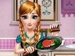 Jouer gratuitement à Frozen : Anna dans la cuisine