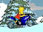 Jeu Bart Snow Ride