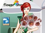 Jeu La jeune du magasin de fleurs