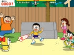 Jeu Japanese Badmington Doraemon
