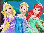 Jeu Elsa Princesse Disney