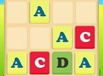 Jeu 4096 Alphabet