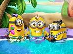 Jeu Les Minions dans la piscine