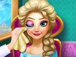 Jeu Princesse Elsa à l'oculiste