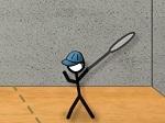 Jouer gratuitement à Stick Figure Badminton
